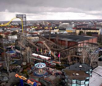 Linnanmäki - Vuoristorata has been the most popular ride in Linnanmäki every year since it opened on July 13, 1951.