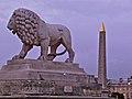Lion by Giuseppe Franchi, Terrasse de l'Orangerie, Paris, France 2011 - panoramio.jpg