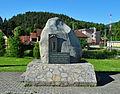 Liptovská Osada - pomník sovietskym parašutistom.JPG