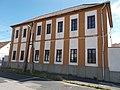 Listed former granary, Lázár St., Veszprém, 2016 Hungary.jpg