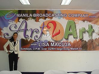 Lisa Macuja-Elizalde - Lisa Macuja-Elizalde at 'Art 2 Art' launching on March 11, 2007 in Manila, Philippines.