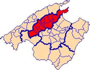Raiguer - Location of Raiguer