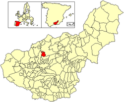 Location of Deifontes