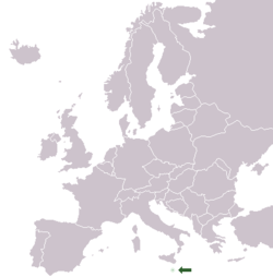 Malta On Map Of Europe.Malta Wikibooks Open Books For An Open World