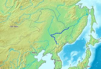 Songhua River - Image: Location Songhua