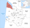 Locator map of Kanton Le Nord-Médoc 2019.png