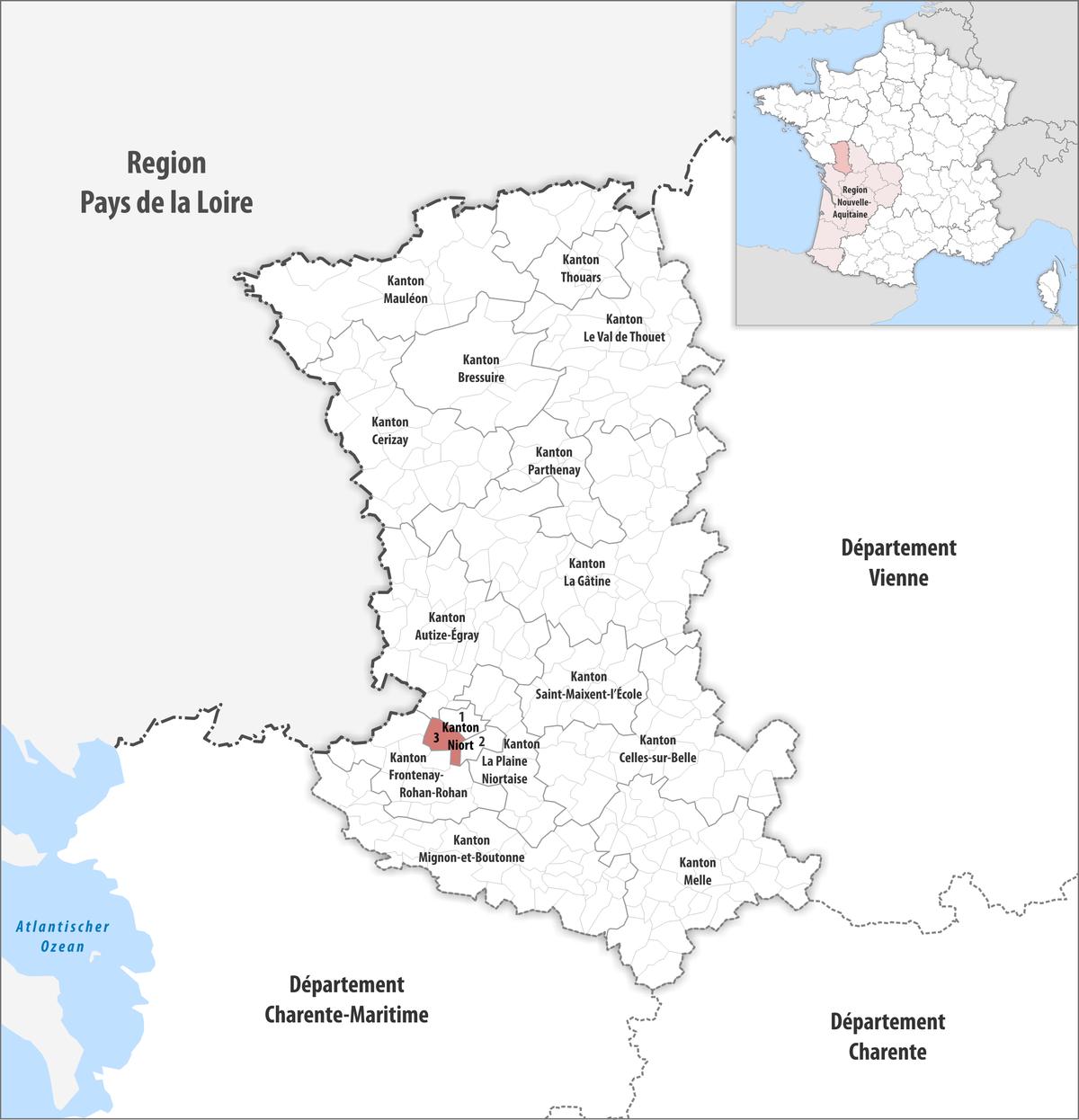 Kanton Niort-3 – Wikipedia