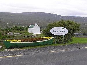 Loch an Iúir - The main road in Loch an Iúir