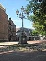 Lochem, monumentale lantaarnpaal op de Markt foto1 2011-07-11 10.44.JPG