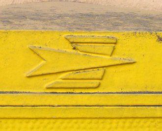 La Poste (France) - Image: Logo ptt 1960