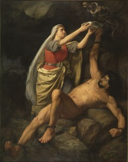 Loke and Sigyn (Mårten Winge) - Nationalmuseum - 18041.tif