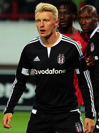 Andreas Beck (footballer) - Beck with Beşiktaş in 2015