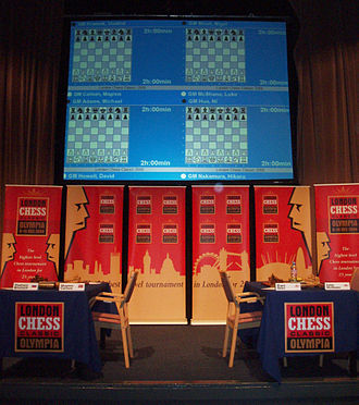 London Chess Classic - Playing stage before the opening round, 2009