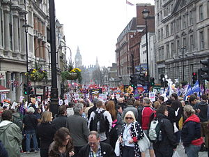 The March for the Alternative was a held in Lo...