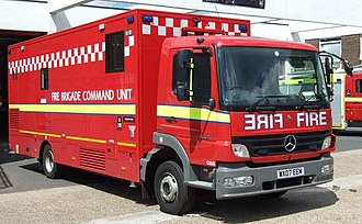 London Fire Brigade appliances - 2007-registered command support unit