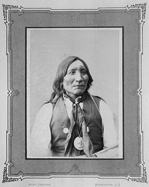 Lone Wolf v. Hitchcock - Lone Wolf (the elder) in 1872