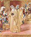 Lorenzo Lotto - Blessings of St Bridget (detail) - WGA13688.jpg
