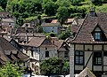 Lot Saint-Cirq-Lapopie Chateau Vue Sur Le Village 29052012 - panoramio.jpg