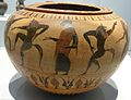 Louvre-Lens - Les Étrusques et la Méditerranée - 313 - Paris, musée du Louvre, DAGER, collection Campana, E 736 (Dinos ; danse de satyres et ménades) (A).JPG