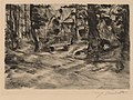 Lovis Corinth, Bench in the Woods II (Bank im Walde II), 1917, NGA 153566.jpg