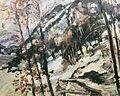 Lovis Corinth Walchensee mit Herzogstand im Schnee 1922.jpg