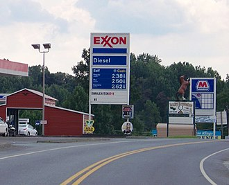 Cana, Virginia - Roadside scene in Cana, near the North Carolina state line