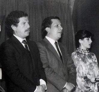 Pablo Escobar - The Justice Minister Rodrigo Lara (center) and presidential candidate Luis Carlos Galán (left) were both assassinated by orders of Escobar