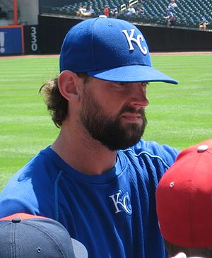 Luke Hochevar - Hochevar with the Royals in 2016