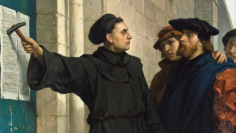Image result for martin luther 95 theses