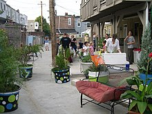Luzerne Glover Block Party to celebrate completion of gated and greened alley