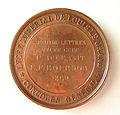 Médaille Napoléon III empereur, Lycée impérial Louis-le-Grand (1863) Graveur Armand Auguste Caqué (1793-1881) (1).JPG