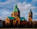 München, evangelische Pfarrkirche St. Lukas im Lehel (tone compressed) (14222393931).jpg