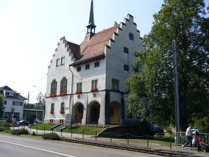 Münchwilen, Thurgau - Courthouse in Münchwilen