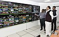 M. Venkaiah Naidu and the Minister of State for Information & Broadcasting, Col. Rajyavardhan Singh Rathore visiting the Electronic Media Monitoring Center (EMMC), at Soochna Bhawan, in New Delhi.jpg
