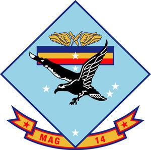 Marine Aircraft Group 14 - MAG-14 Insignia