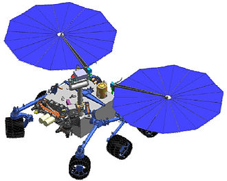 ExoMars - Concept of MAX-C rover