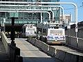 MBTA Silver Line buses at D Street, June 2012.JPG