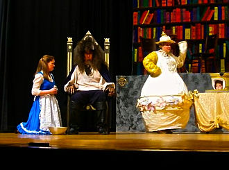 """Murray County Central School District - MCC's drama department performed """"Beauty and the Beast"""" in 2010."""