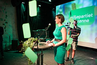 Green Party (Norway) - Former national spokeswoman Hanna Marcussen