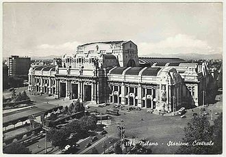Stazione di Milano Centrale - Milano Centrale (1964)