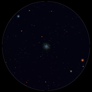 M 22 al telescopio 114mm