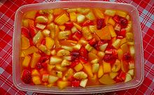 como hacer salpicon de frutas para vender