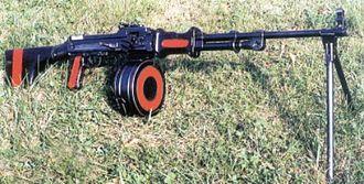 RPD machine gun - RPD from Polish Army depot