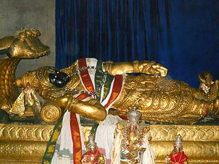 Ranganatha Hindu god