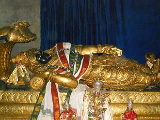 Ranganatha - Jaganmohana Ranganatha at Shivanasamudra