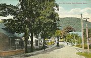 Main Street, Looking East, Chester, MA