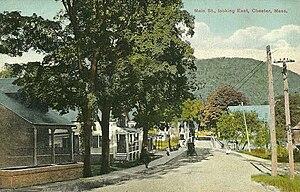 Chester, Massachusetts - Main Street in 1910