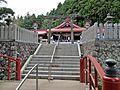 Main approach to Kanahebi-Suijinja shrine 2.JPG