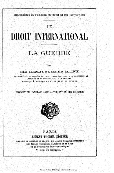 File:Maine - Le Droit international - La Guerre.djvu