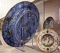 Maiolica di urbino, lapidazione di zaccaria, 1550 ca. retro.jpg